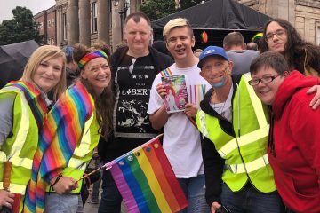Congleton Pride organisers and friends