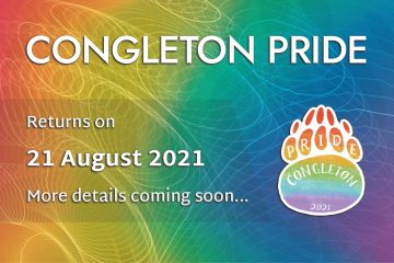 Congleton pride returns on 21 August 2021