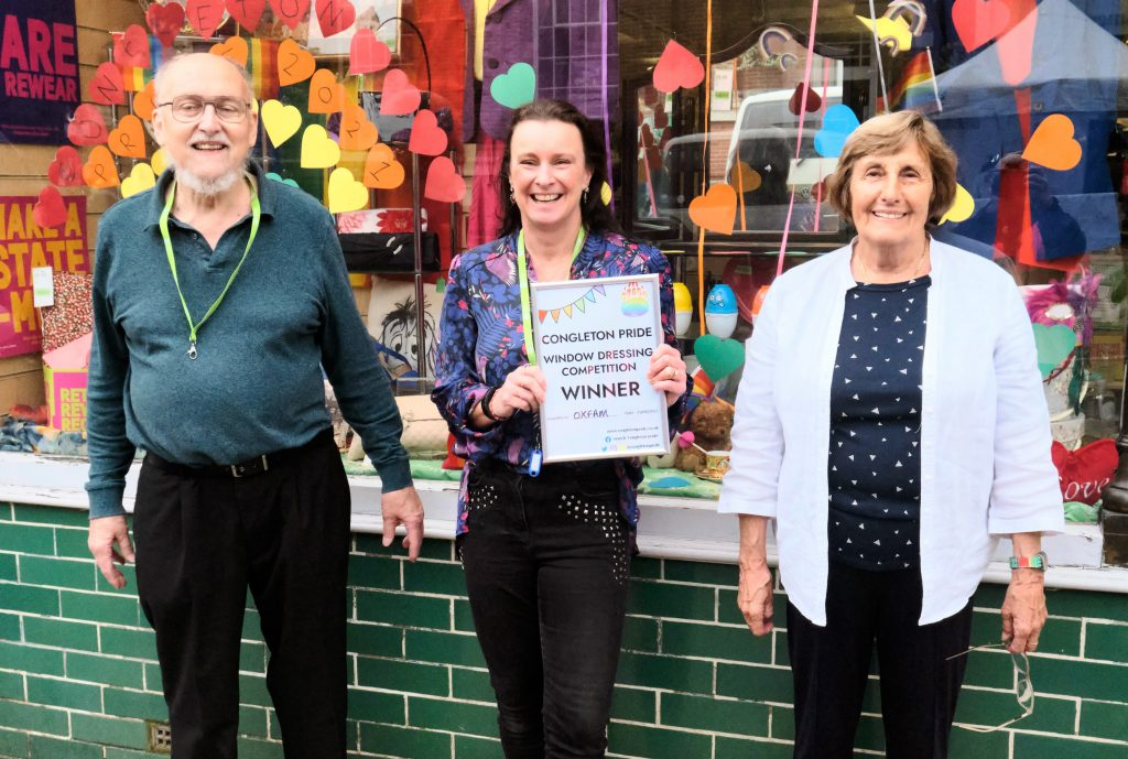 Oxfam - window dressing competition winners